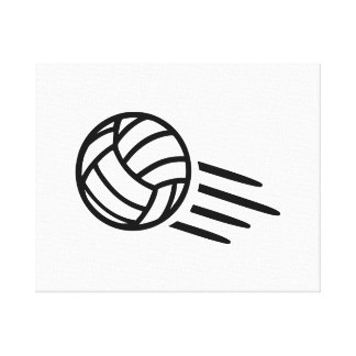Volleyball Gallery Wrap Canvas