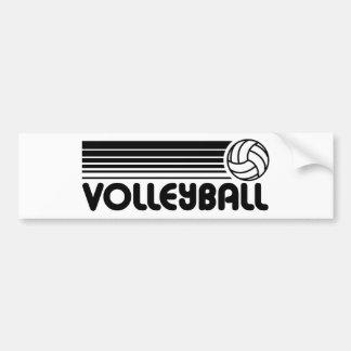 Volleyball Car Bumper Sticker