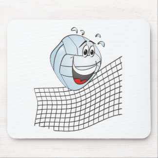 Volleyball Cartoon Mouse Pad