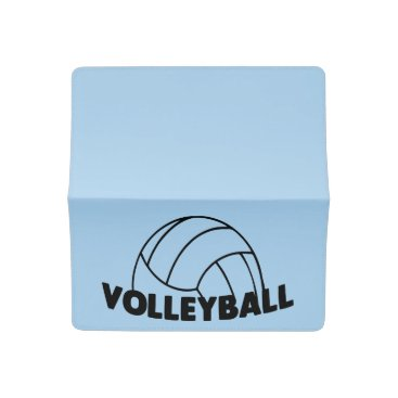 Beach Themed Volleyball Checkbook Cover