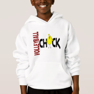 Volleyball Chick 1 Hoodie