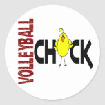 Volleyball Chick 1 Stickers