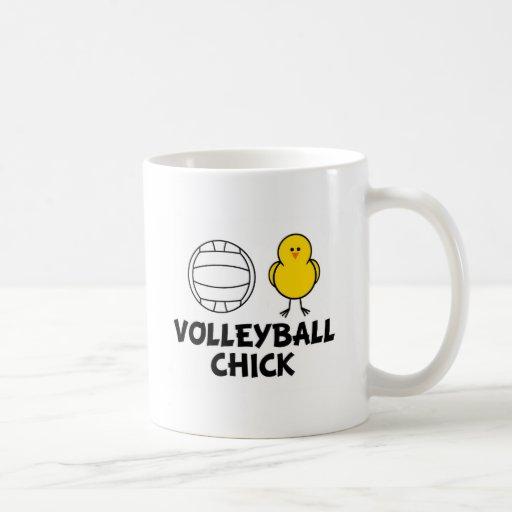 Volleyball Chick Mugs