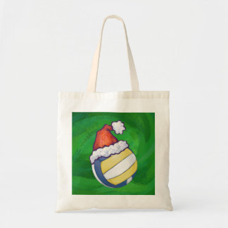 Volleyball Christmas Tote Bags