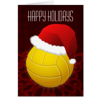 volleyball Christmas Cards