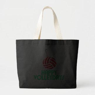 Volleyball Christmas Happy Volleydays Ornament Bag