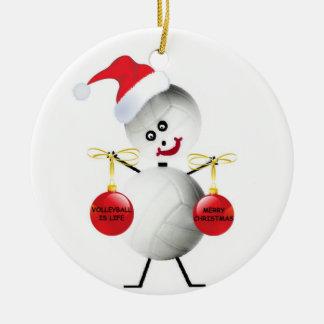Volleyball Christmas Christmas Ornaments