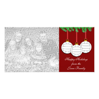 Volleyball Christmas Photo Card