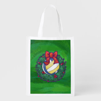 Volleyball Christmas Market Tote