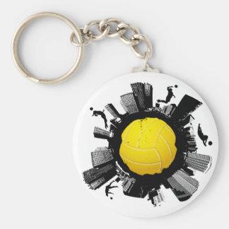 Volleyball City 2 Keychain