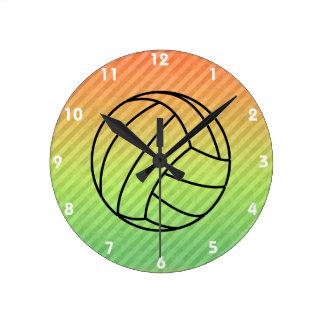 Volleyball; Round Clocks