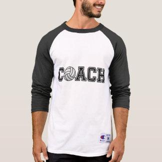 Volleyball Coach 3/4 Sleeve Raglan T-Shirt