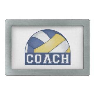 Volleyball Coach Belt Buckle