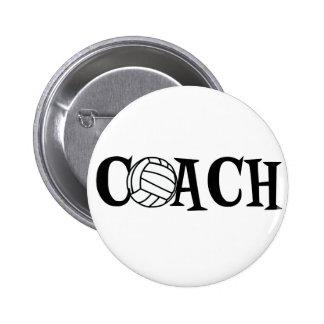 Volleyball Coach Button