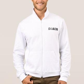 Volleyball Coach California Fleece Zip Jogger Jacket