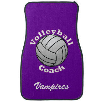 Volleyball Coach Car Mat