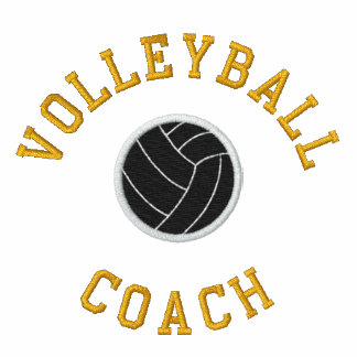 VOLLEYBALL COACH Embroidered Shirt