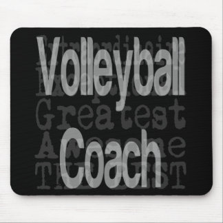 Volleyball Coach Extraordinaire Mouse Pad