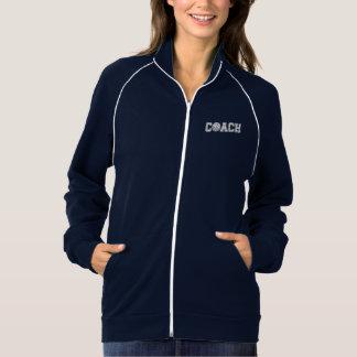Volleyball Coach Fleece Track Jacket