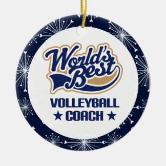 Volleyball Coach Gift Ornament