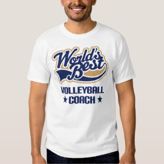 Volleyball Coach Gift (Worlds Best) T Shirt