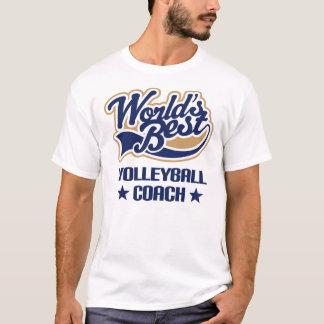 Volleyball Coach Gift (Worlds Best) T-Shirt