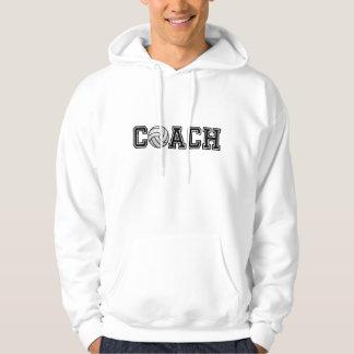 Volleyball Coach Hooded Sweatshirt
