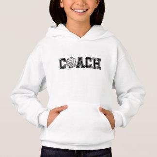 Volleyball Coach Kids Hoodie