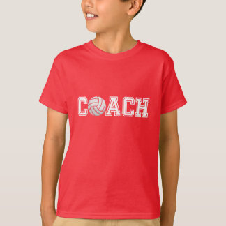 Volleyball Coach Kids T-shirt