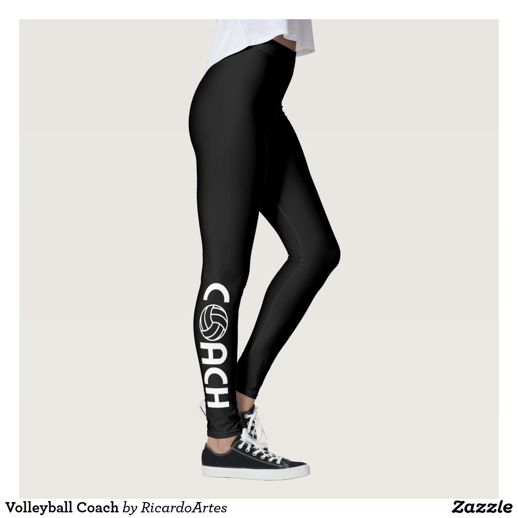 Volleyball Coach Leggings