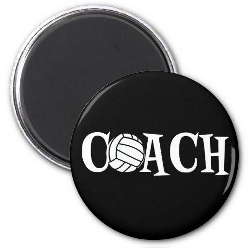 Volleyball Coach Fridge Magnet