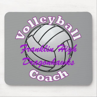 Volleyball Coach Mouse Pad
