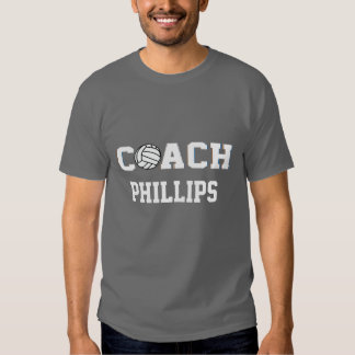 Volleyball Coach - Personalized Tee Shirt