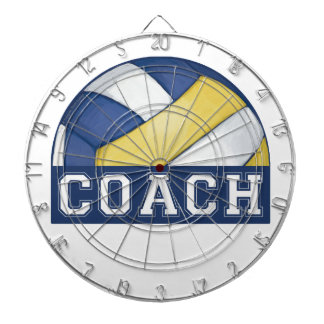 Volleyball Coach ProfiledInk Dart Board