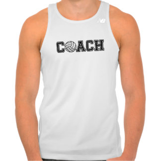 Volleyball Coach Running Tank Top