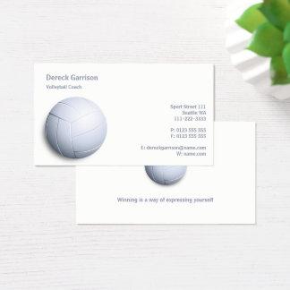 Volleyball Coach | Sport Business Card