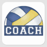 Volleyball Coach Stickers