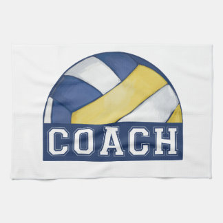 Volleyball Coach Towel