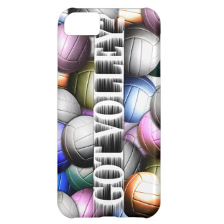 Volleyball Collage iPhone 5C Cases