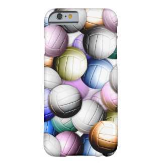 Volleyball Collage Barely There iPhone 6 Case