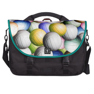 Volleyball Collage Laptop Commuter Bag