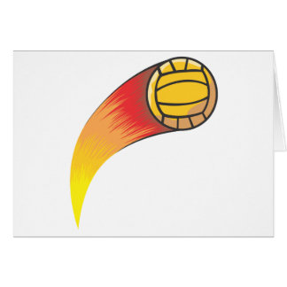 Volleyball Comet Card