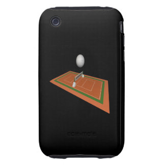 Volleyball Court Tough iPhone 3 Case