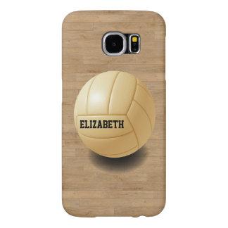 Volleyball Custom Ball Samsung S6 Case