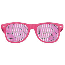 Volleyball Custom Color Party Shades Sunglasses