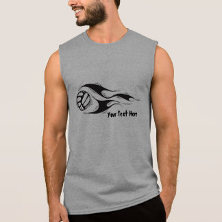 Volleyball (customizable) sleeveless shirt