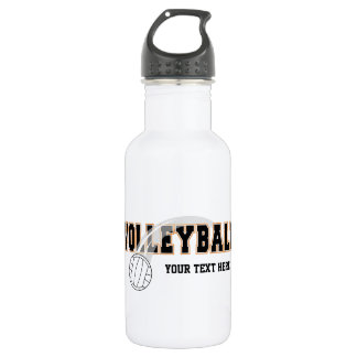 Volleyball (customizable) water bottle