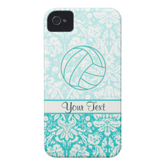 Volleyball Cute Teal Case-Mate iPhone 4 Cases