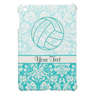 Volleyball; Cute Teal iPad Mini Case