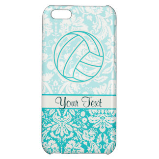 Volleyball; Cute Teal iPhone 5C Case